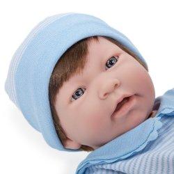Duża lalka bobas Nino z włoskami