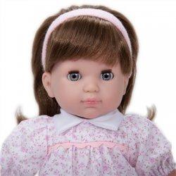 Lalka Dziewczynka Carla - stojąca lalka z ciemnymi włosami