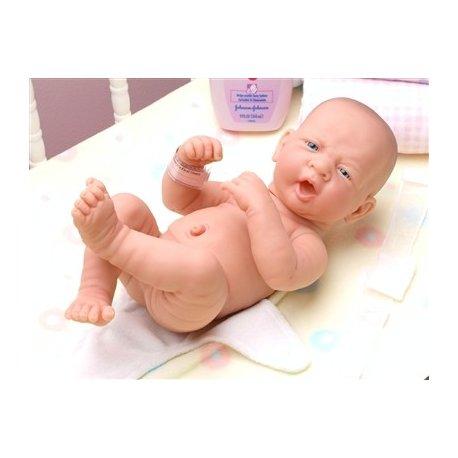 Lalka Bobas - ziewający noworodek