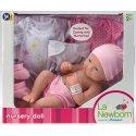 Lalka Bobas z ubrankami - La Newborn, ubieranie lalek!