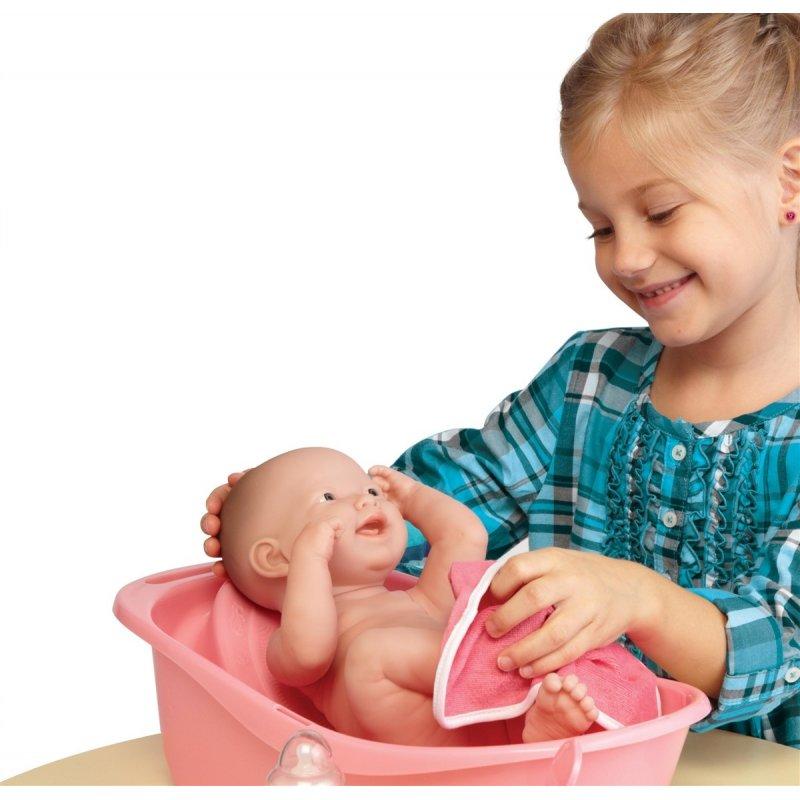 Lalka bobas z zestawem do kąpieli - lalka dla dziewczynki