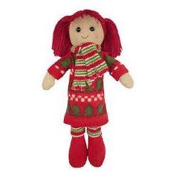 Lalka szmaciana - świąteczna - Powell Craft