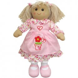 Rag Doll with Flowers - Powell Craft