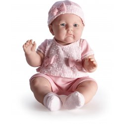 Duża Lalka Bobas w Różowym Ubranku - Lily