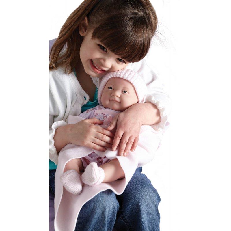 Lalka Bobas w różowym z dziewczynką