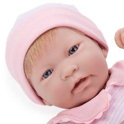 Nina z włoskami - Hiszpańska lalka Bobas
