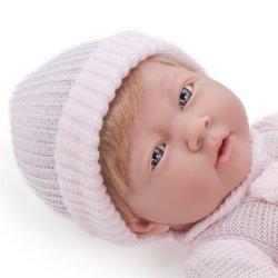 Lalka Lora - dziewczynka, kolekcja La Newborn