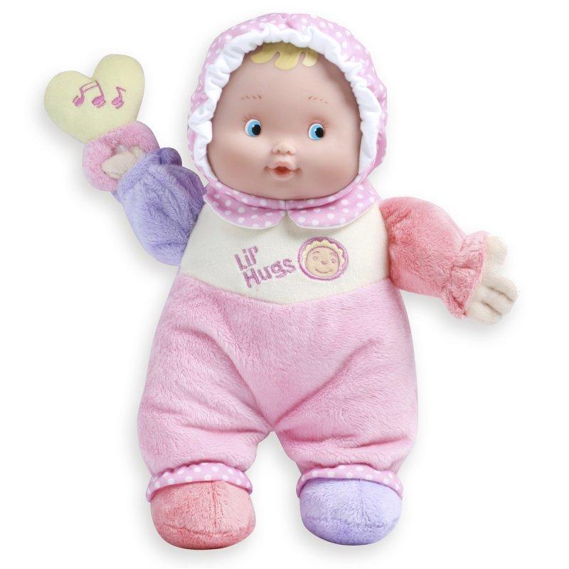 Mięciutka lalka od pierwszego dnia życia dziecka.
