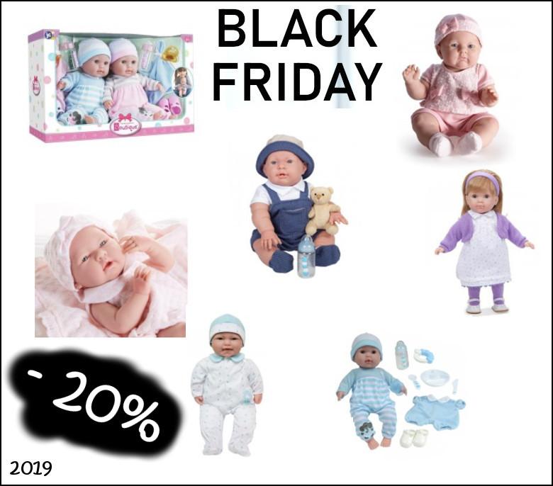Czarny piątek - Hiszpańskie lalki na promocji!