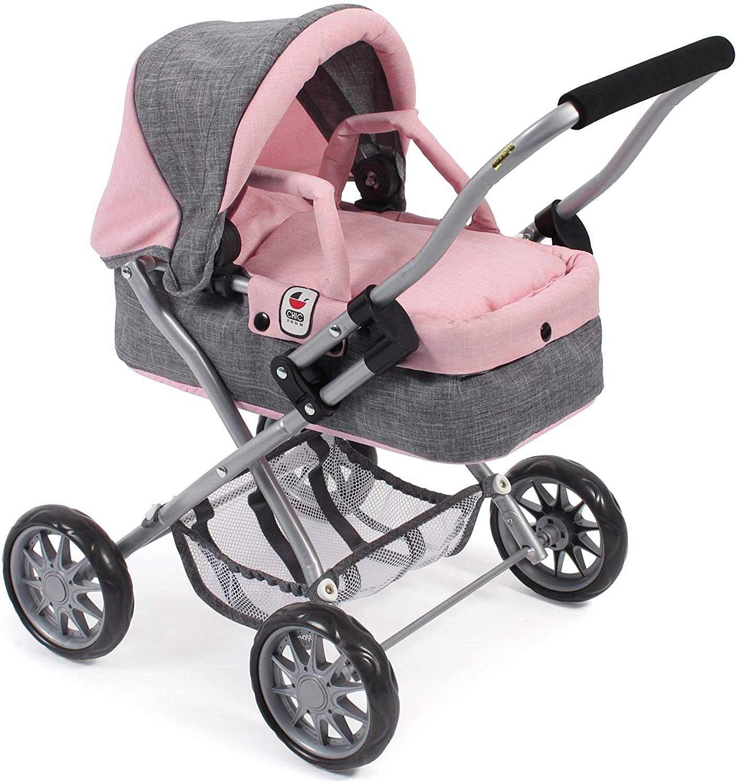 Wózek dla lalek dla 3 latki - Smarty - Bayer Chic 2000
