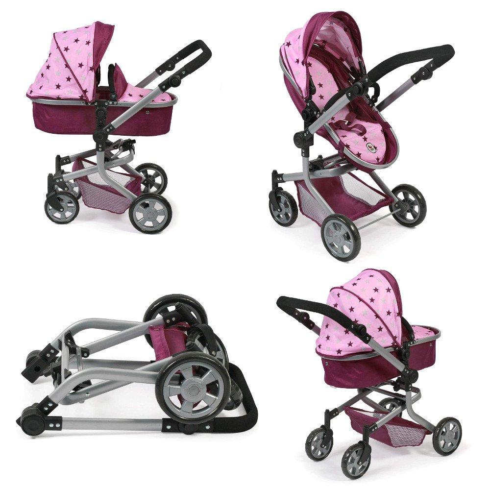 Nowoczesny wózek dla lalek - Mika - Bayer Chic