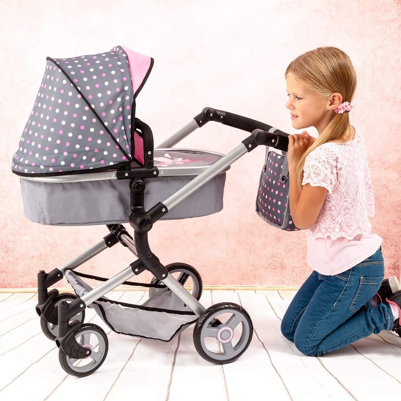 Wózek dla lalek 2w1 - Neo Vario - dla dziewczynek od 3 roku życia
