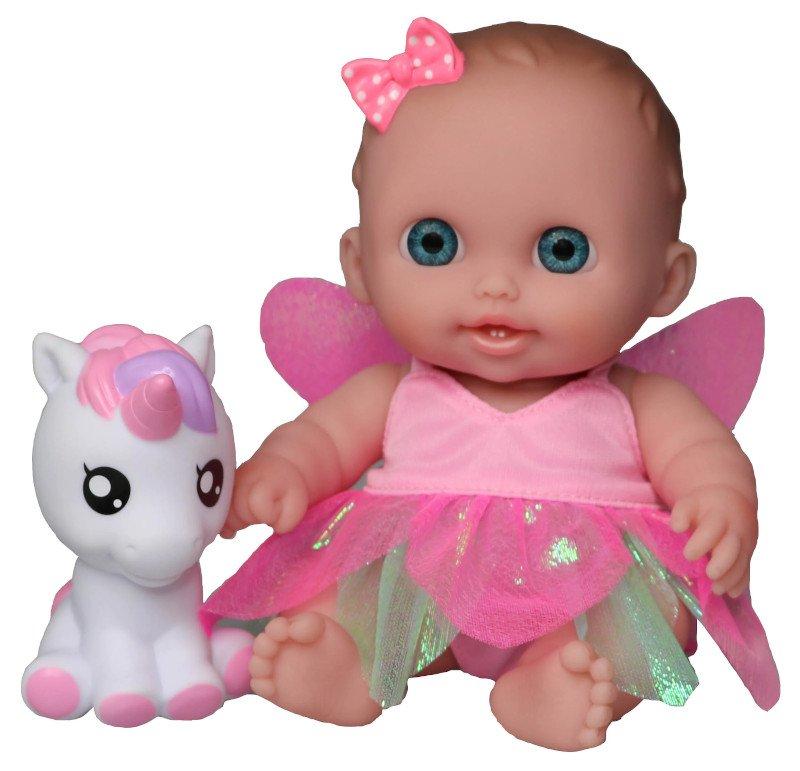 Mała laleczka - Wróżka z jednorożcem - JC Toys 16994