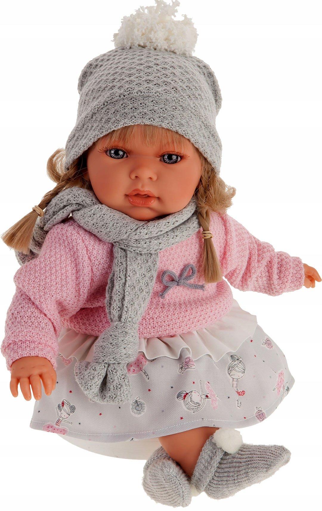 Hiszpańska lalka Antonio Juan - Any Bufanda - dziewczynka
