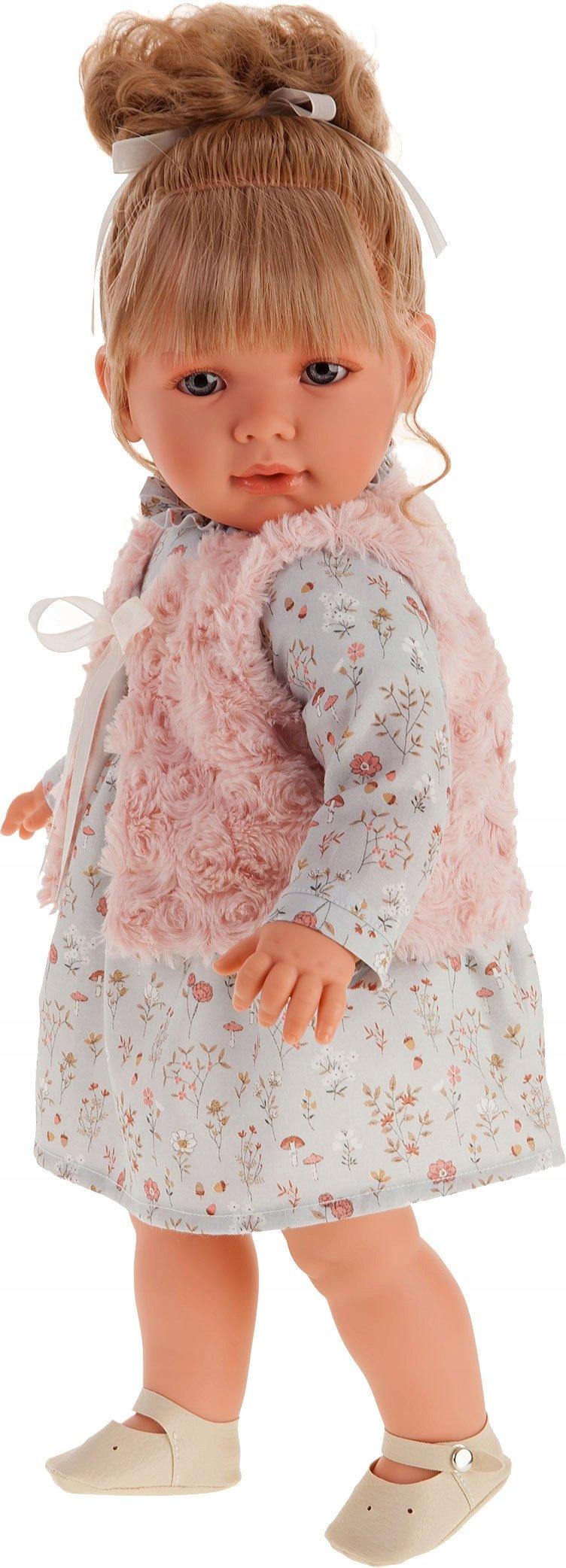 Hiszpańska lalka dziewczynka z włoskami - Antonio Juan - Lula Chaleco - ref. 1831