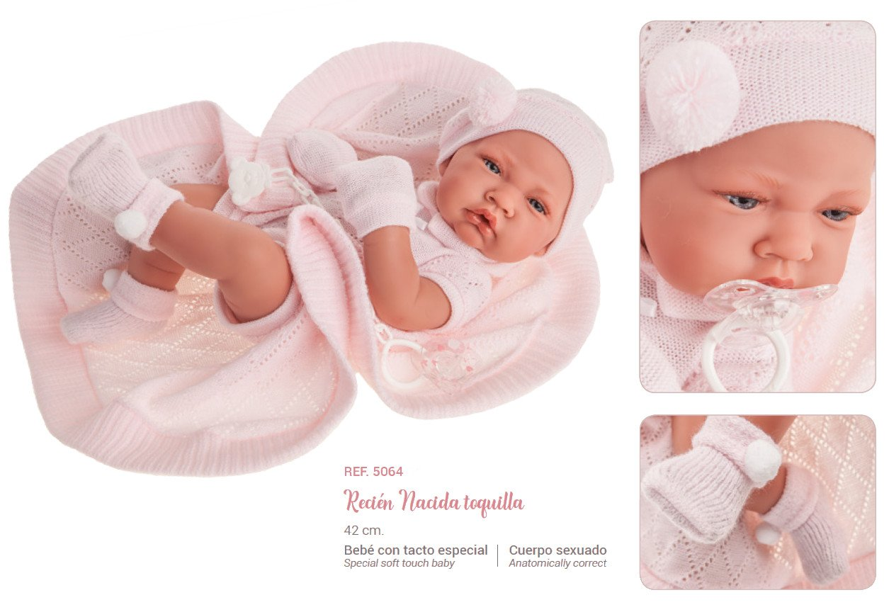 Lalka Antonio Juan - Toquilla Nina (Dziewczynka) - 5064