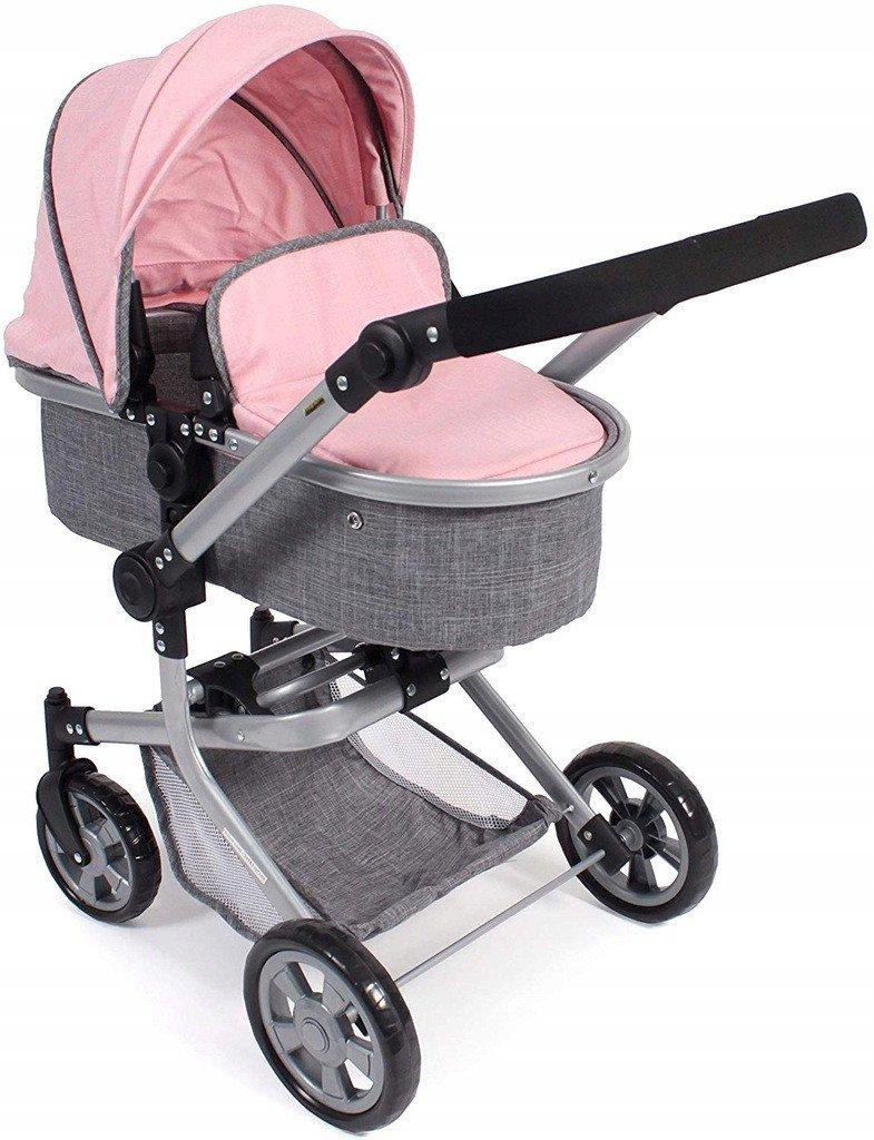 Głęboki wózek dla lalek - Kombi MIKA - Bayer Chic 595 15