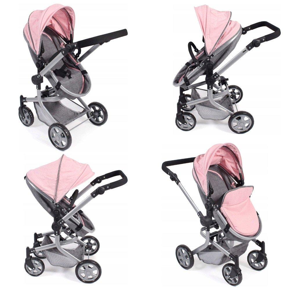 Kombi MIKA - Bayer Chic 595 15 - wielofunkcyjny wózek dla lalek
