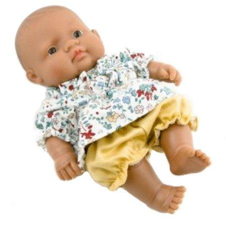 Ubranko dla małej lalki - komplet - łączka