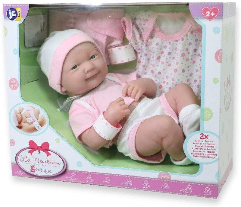 Lalka bobas do ubierania - JC Toys 18543 - 2021