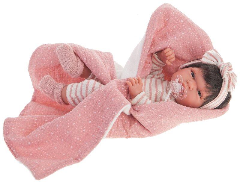 Lalka Antonio Juan Baby Toneta Manta 60146