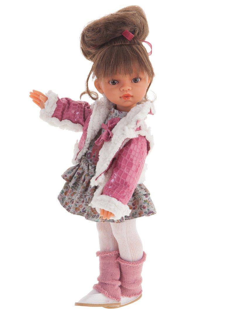 Antonio Juan 25195 - modnie ubrana lalka dziewczynka - 33 cm