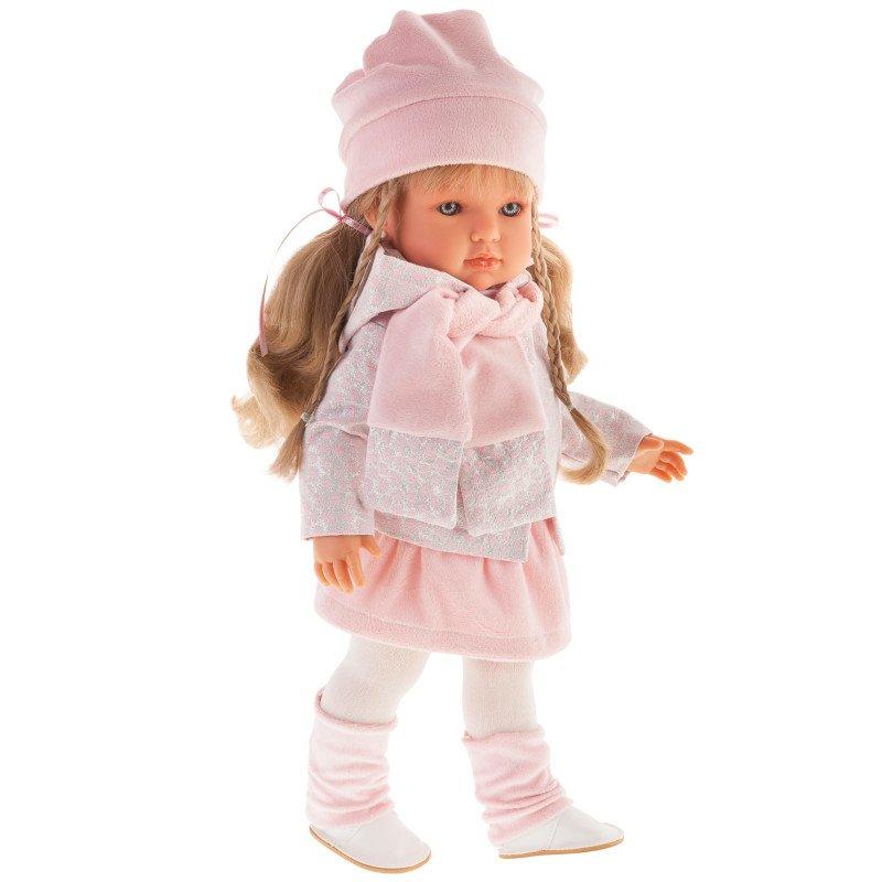 Hiszpańska lalka dziewczynka - Antonio Juan 28017 - Bella Brillo Trenzas