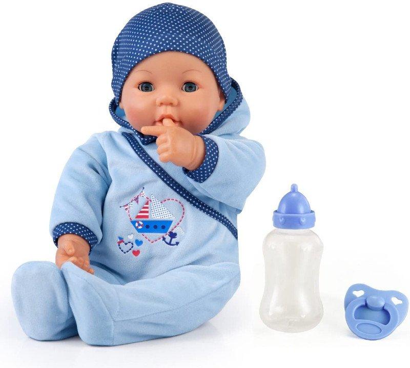 Bayer Design - Lalka Interaktywna - Hello Baby Boy - 46 cm