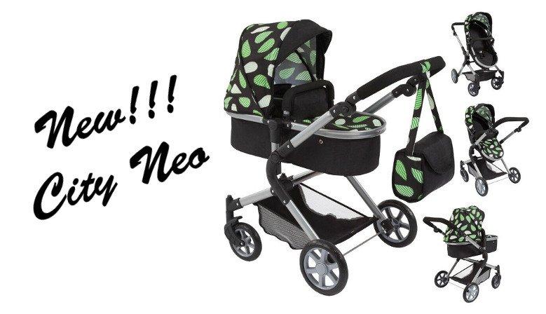 wózki dla lalek city neo