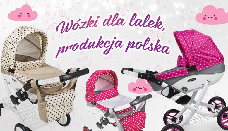 polskie wózki dla lalek